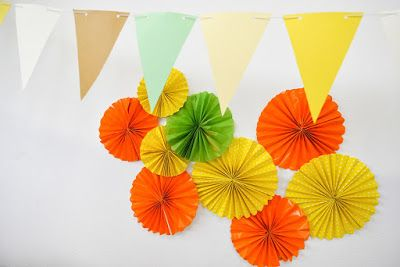 paper decoration+banner flags_Vitaminic Party_NastrinieBollicine
