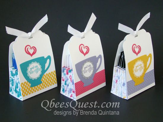 Qbee's Quest: A Nice Cuppa Note Card