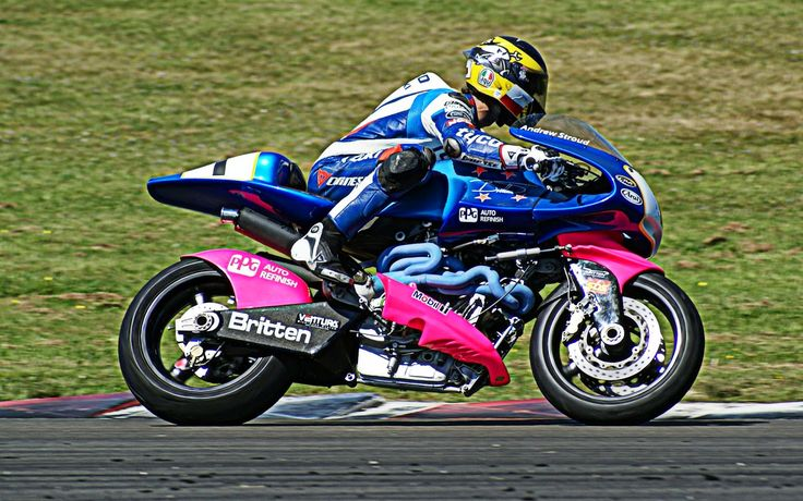 Guy Martin on the Britten