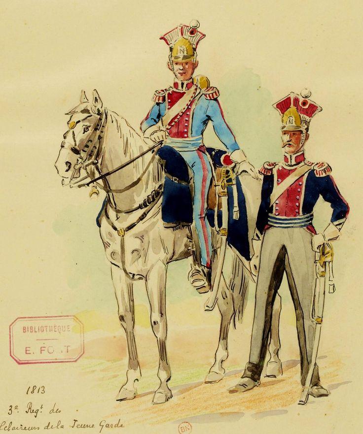 Trompette_et_maréchal_des_logis_des_éclaireurs-lanciers,_1813.jpg (1140×1366)