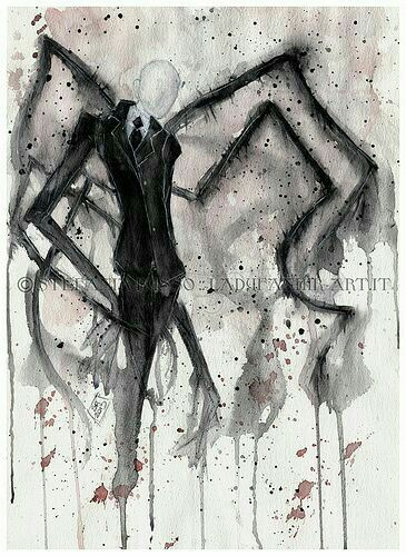 Slenderman; Creepypasta