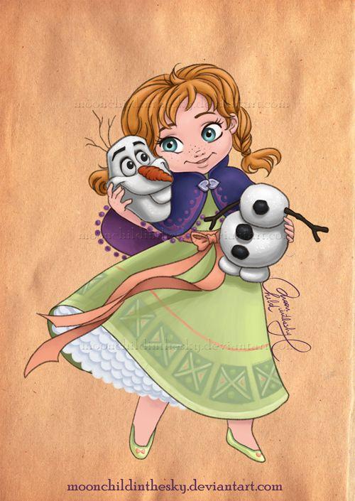 Anna da Disney