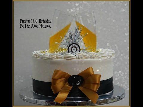 Pastel Feliz Año Nuevo/Happy New Year - YouTube