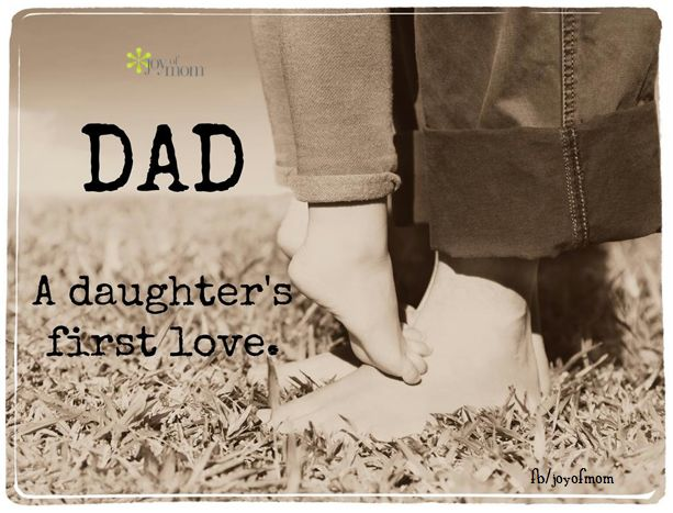 First Time Mom And Dad Quotes: Dad. A Daughter's First Love
