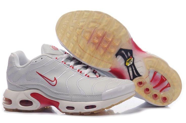 Women Nike Air Max Tn Grey Red XII795 Sale: $65.23