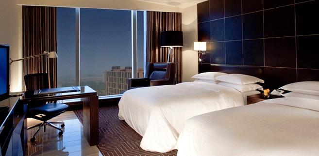 Delux Twin Room @Sheraton Hotel Incheon