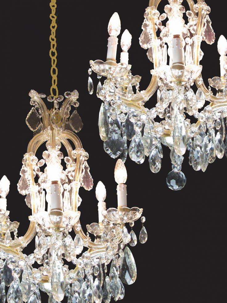 17 migliori idee su Lampadari Di Cristallo su Pinterest ...