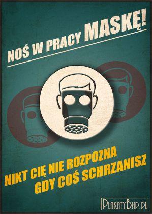 Wiem jak ciężko zmusić pracowników do noszenia osobistej ochronnej odzieży. Może taka forma propagowania idei bezpieczeństwa w pracy zachęci tych wszystkich, którzy bez niej nie powinni wykonywać obowiązków służbowych? Co Wy na to? http://bhpsiedlce.pl/ http://plakatybhp.pl/