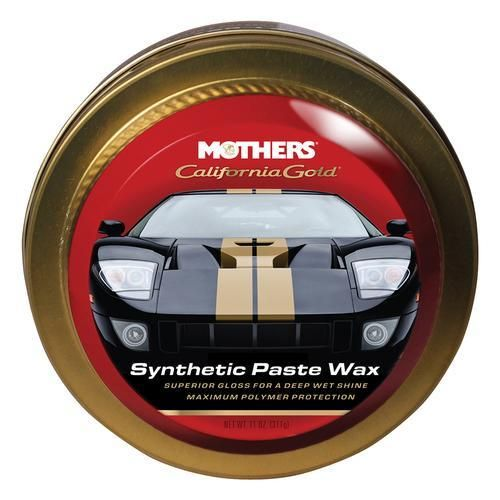 Mothers California Gold Synthetic Paste Wax 11oz California Gold Synthetic Wax