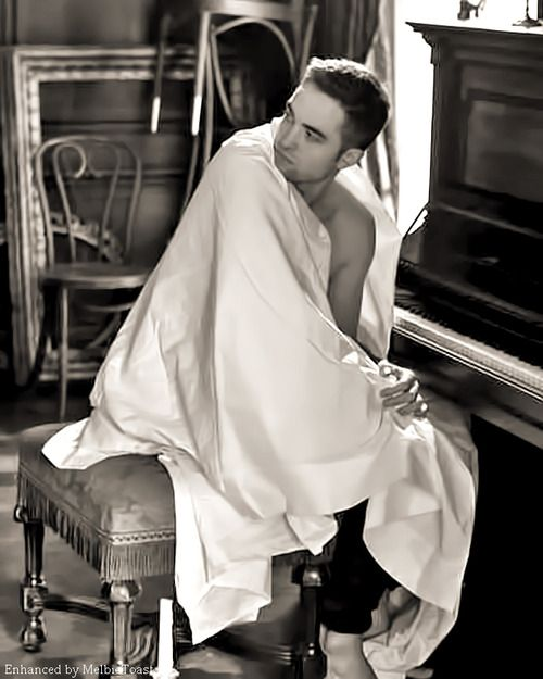 Robert Pattinson, Dior Homme. As a former actor, it's so cool to see actors in the same category as James Dean, Heath Ledger and the like, choosing great and different roles, in an era of waxed 'gym freaks' playing super heroes in cinema.