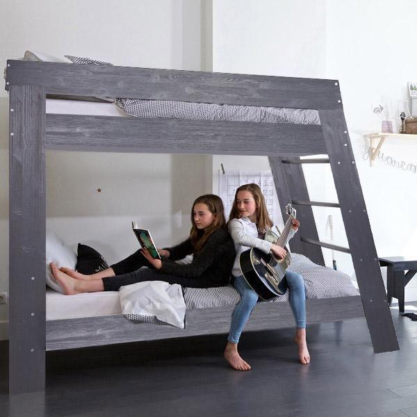 instrument JULIEN kids bunk bed in grey - INSTRUMENT FURNITURE