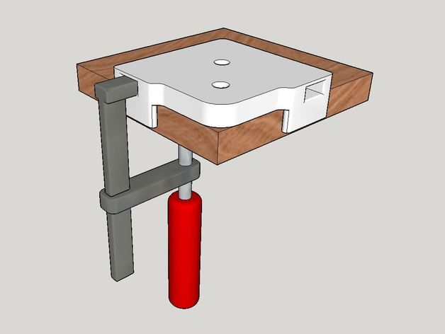 Woodworking Router Jig for rounding over corners by Endurofreak - Thingiverse