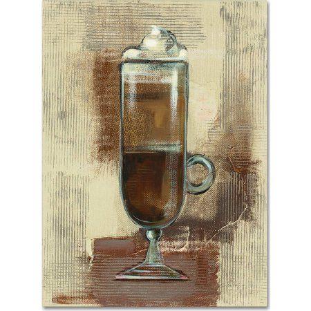Trademark Fine Art Cafe Classico IV Neutral Canvas Art by Silvia Vassileva, Multicolor