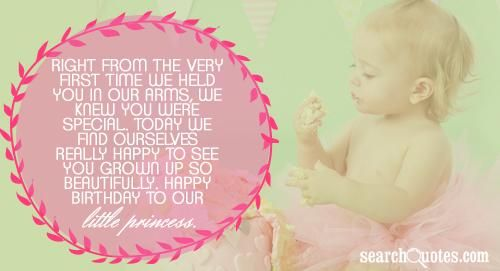 Birthday Quotes for Daughter | ... you grown up so beautifully. Happy Birthday to our little princess