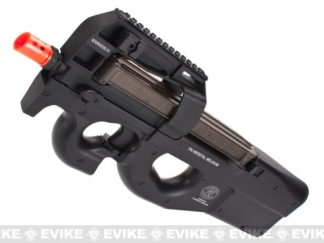 FN Herstal Licensed P90 Full Size Metal Gearbox Airsoft AEG - (Package: Gun Only)Find our speedloader now!  http://www.amazon.com/shops/raeind