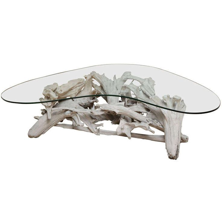 drigt wood coffee table | Boomerang Driftwood Coffee Table
