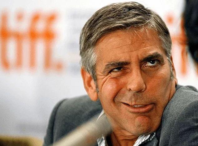 Джордж Клуни и его смешное лицо