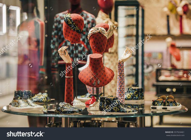 Milan, Italy - November 12, 2016: Dolce and Gabbana store in Milan, Italy.