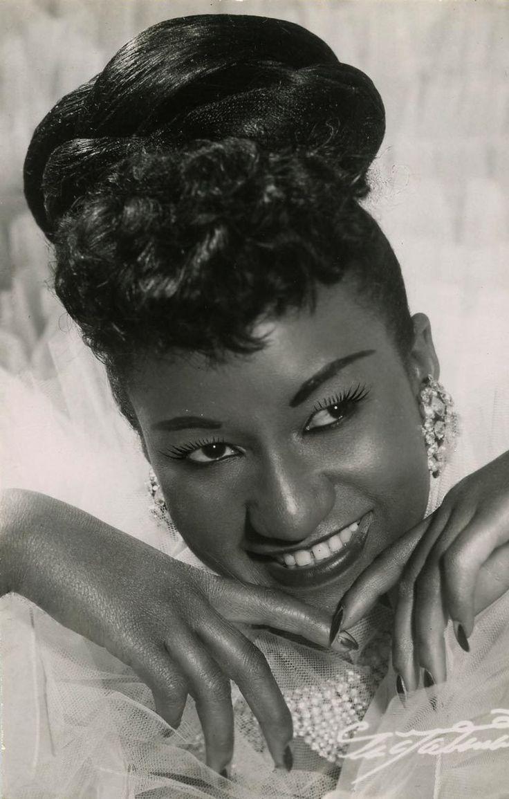 1950S CUBAN MUSIC LEGEND CELIA CRUZ PHOTO