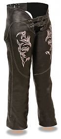Womens Motorcycle Chaps | Womens Leather Motorcycle Chaps