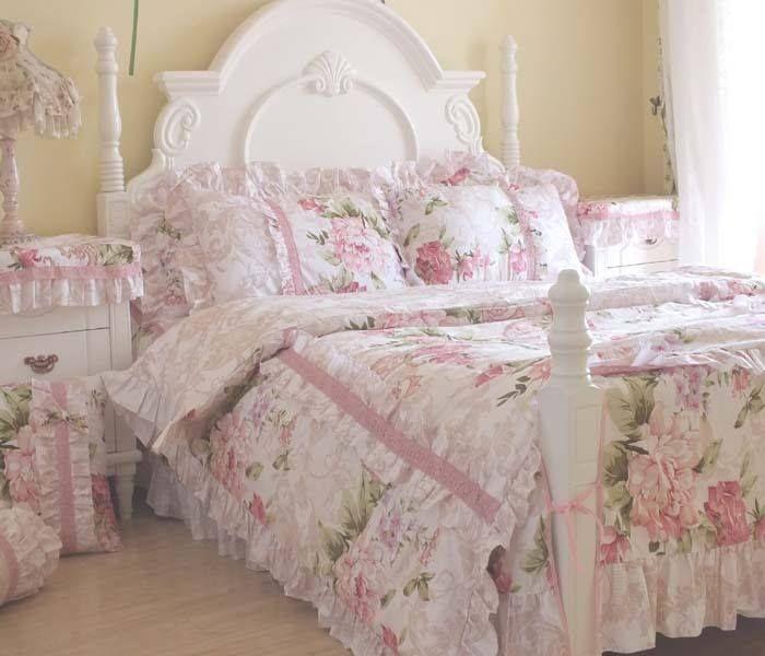 Best 25 Shabby Chic Bedding Sets Ideas On Pinterest