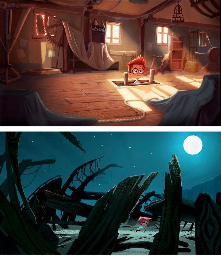 Mr. Peabody And Sherman Concept Art Is Way More Surreal Than The Film