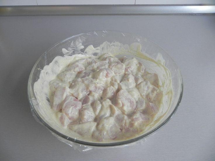 Receta india cocotte minute: Arroz basmati con pollo garam masala!!