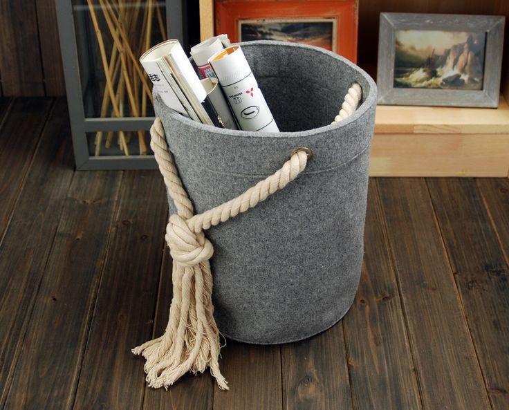 Felt Storage Box Container Bag Storage Box Houstehold Storage Bin Storage Basket E1216 by Filzkraft on Etsy https://www.etsy.com/listing/170242021/felt-storage-box-container-bag-storage