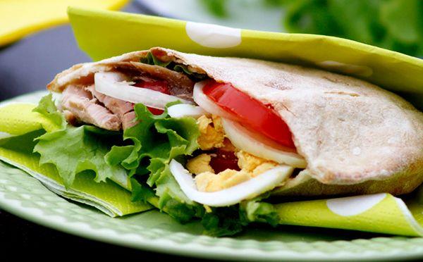 pita sandwich recipes - pita bread recipe