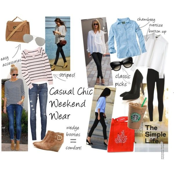 Ideas for Casual Weekend Outfits