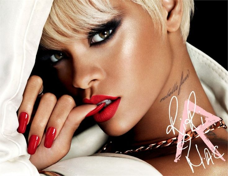Rihanna Named as Macs New Viva Glam Spokesperson MUSIC