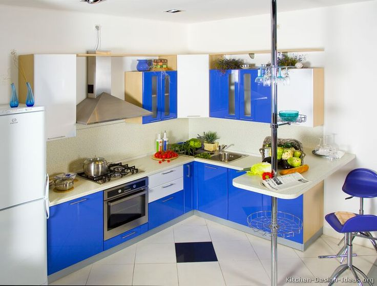 Best 154 Best Images About Blue Kitchens On Pinterest Modern 400 x 300