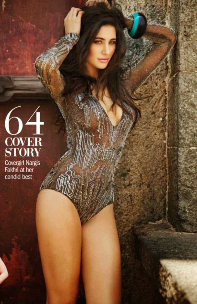 Va-Va-Voom! Nargis Slips Into Sexy Swimsuits For Filmfare Shoot | Bollywood | Slide 3 | www.indiatimes.com | Page 3