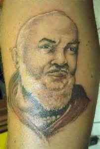 Tags Tattoo  Padre Pio Religioso