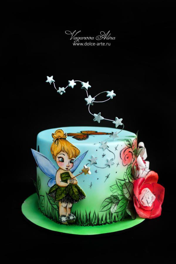 Tinker Bell on fairy glade by Alina Vaganova