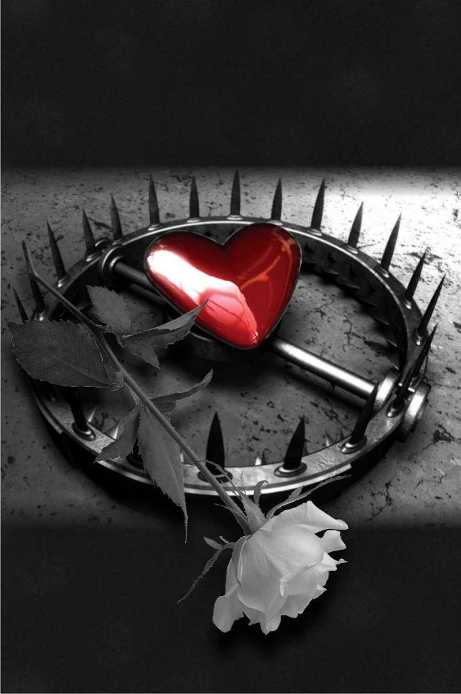 картинки разбитой любви розы женский знак зодиака