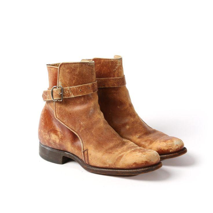 ladies vintage riding boots