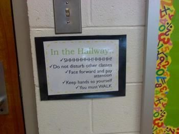 Behavior Clip Chart, Room Labels, Classroom Rules
