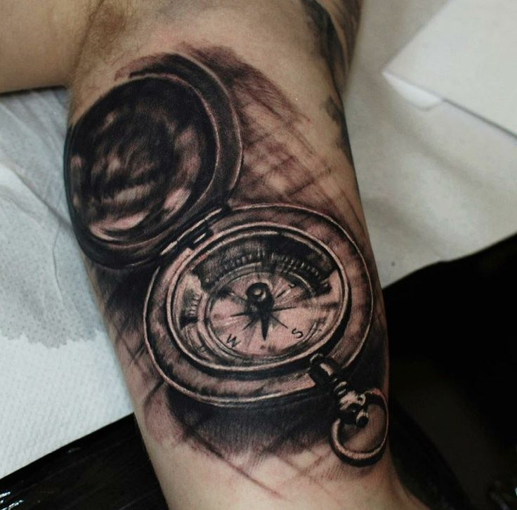 #old #compass #tattoo #hammersmithtattoo