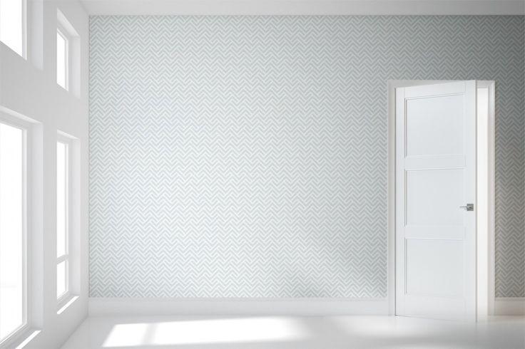Modern Wallpaper Designs   Modern Wallpaper Patterns   Turnkey Chevron - Detroit Wallpaper