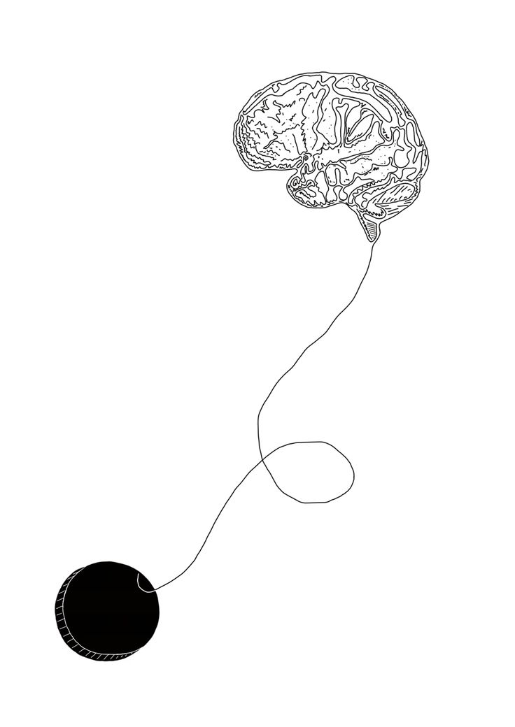 Brain on an eternal leash eternal.