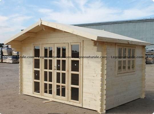 Casa da giardino in legno blockhaus modello Veneto