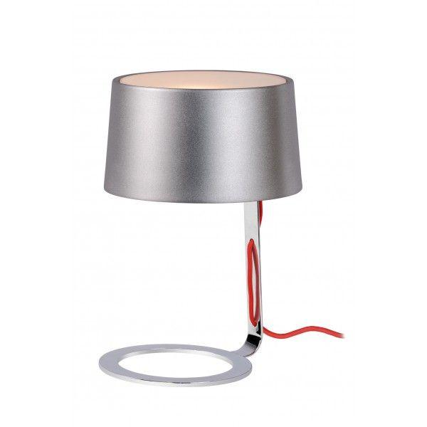 Aiko H24 cm - Lucide - kolor srebrny