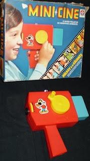 Mini Cine - Super Projetor da Estrela Anos 80