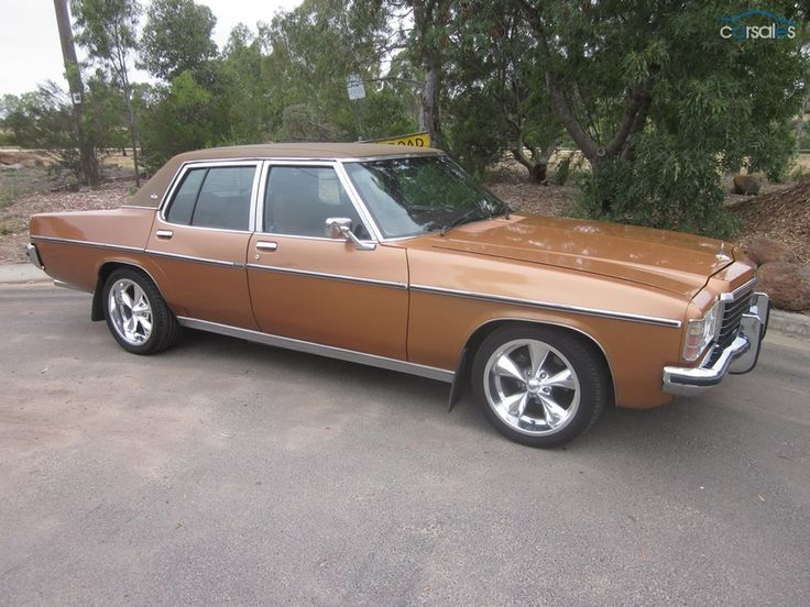 1978 Holden Statesman HZ Caprice Lol if he had is way he'd drive his own gold caprice to our wedding