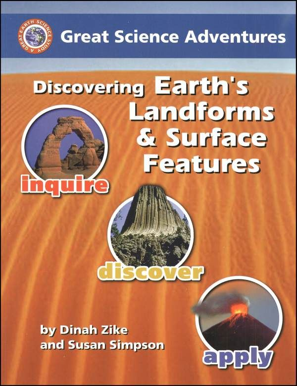 supporting life earth's surface and landforms Using fossil evidence to evaluate changes in environment & life conditions the earth's surface is constantly being broken down and and jonah stated that a landform is a term that refers to any natural surface feature of the earth landforms include things like mountains and hills or.