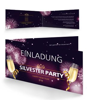 the 25+ best silvester einladungskarten ideas on pinterest, Einladungen