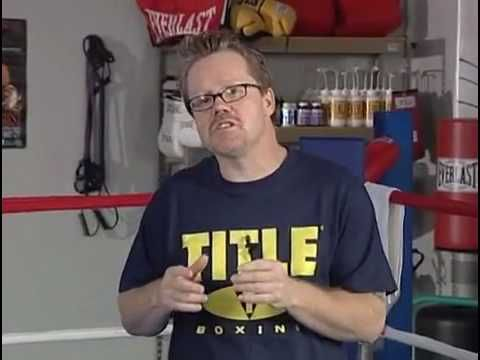 Freddie Roach teaches how to move and punch while keeping balance