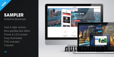 Themeforest – Sampler – Creative Showcase HTML Template » Nulled Scripts, php, WSOs - NulledShare.com