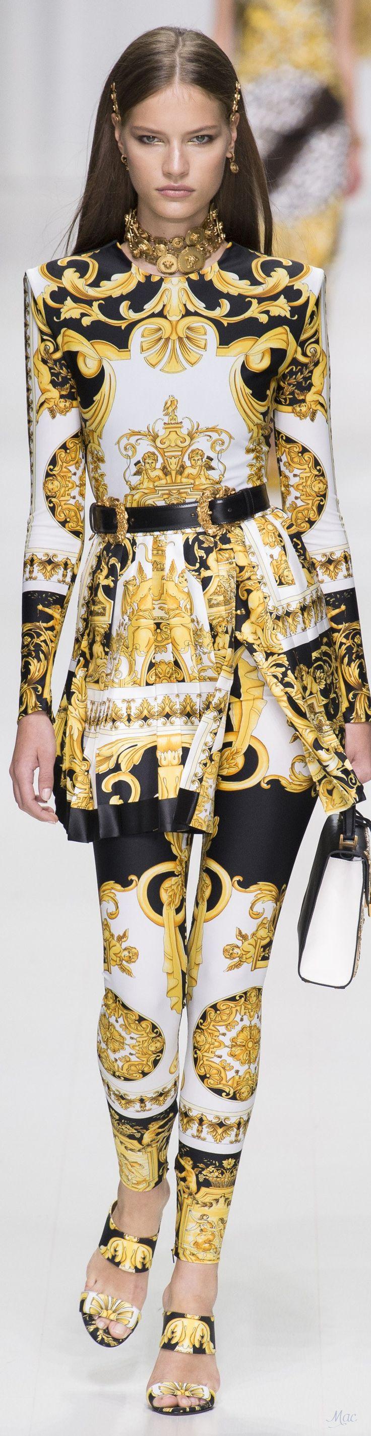 Spring 2018 RTW Versace